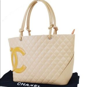 🆕 Chanel CC Cambon line Tote Bag 👜